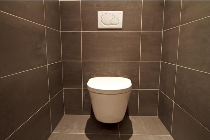 Vloer badkamer en wc